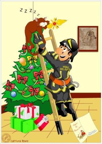 С новым годом пожарные картинки